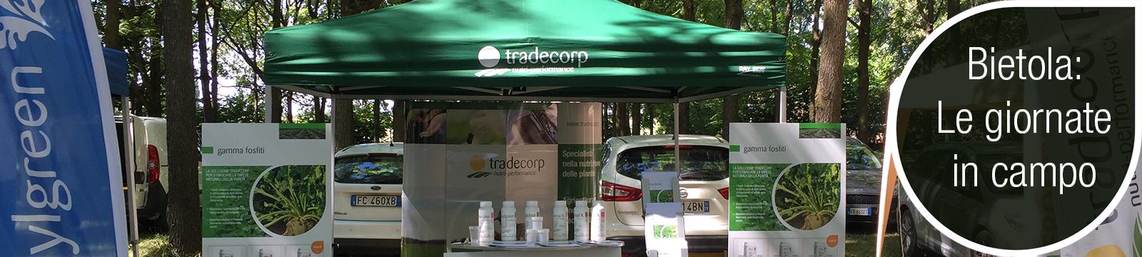 Tradecorp protagonista delle giornate in campo dedicate alla bietola